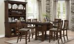 Nantwich Transitional Dining Room Set in Brown