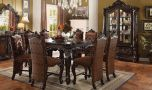 Pontardawe Traditional Dining Room Set in Cherry Oak