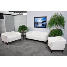 HERCULES Imperial Series Reception Set in White [111-SET-WH-GG]