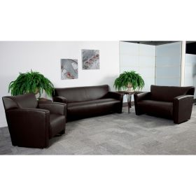 HERCULES Majesty Series Reception Set in Brown [222-SET-BN-GG]