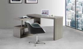 A33 Modern Office Desk in Matte Grey