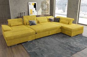 Alexander Modern U-Shape Sectional Sofa