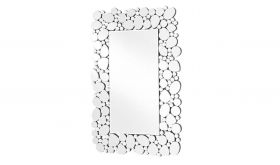 "Allegany Modern 47"" x 30.5"" Wall Mirror in Clear"