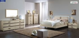 ESF Altea Modern Bedroom Set in Beige