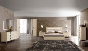 ESF Ambra Bedroom Set in Beige