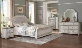 Atlantic Traditional Bedroom Set in Antique White