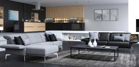 Barbuda Modern Living Room Collection