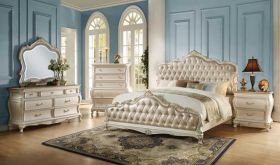Barnard Traditional Bedroom Set in Pearl White