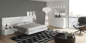 ESF Sara Bedroom Set in White