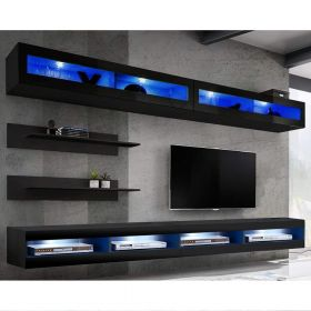 Bessemer Wall Mounted Floating Modern Entertainment Center (Size I2)