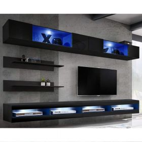 Bessemer Wall Mounted Floating Modern Entertainment Center (Size I3)