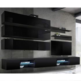 Birmin Wall Mounted Floating Modern Entertainment Center (Size J1)