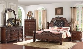 Bogota Traditional Bedroom Set in Cherry