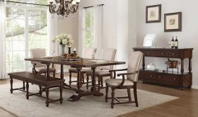 Borg II Traditional Dining Room Set in Cherry
