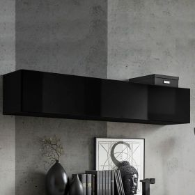 Buren Wall Mounted Floating Hanging Media Cabinet