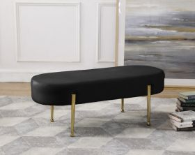 Cahul Contemporary Velvet Bench