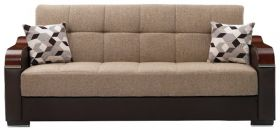 Bethlehem Convertible Living Room Set in Brown