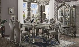 Chiltern Traditional Dining Room Set in Antique Platinum