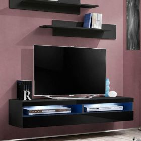 "Chusetts Modern Wall Mounted Floating 63"" TV Stand"