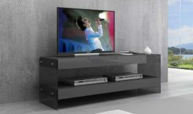 Cloud Mini TV Base in Grey High Gloss