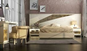 Cohoes Modern Bedroom Set in Beige