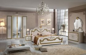Arrowhead Traditional Bedroom Set in White