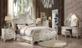 Craven Traditional Bedroom Set in Bone White