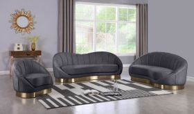 Cupcini Contemporary Living Room Set