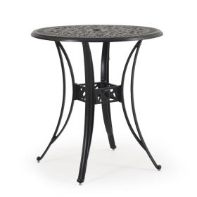 """Chico 36"""" Bar Height Table in Antique Black"""