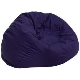 Oversized Solid Navy Blue Bean Bag Chair [DG-BEAN-LARGE-SOLID-BL-GG]