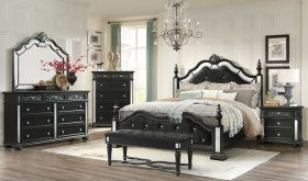 Diana Bedroom Set in Black
