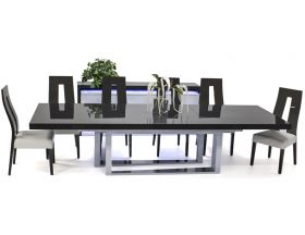 Valley Modern Dining Room Set in Gray Oak
