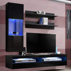 Dothan Wall Mounted Floating Modern Entertainment Center (Size H3)