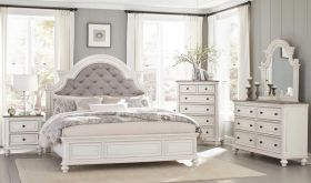 Easton Traditional Bedroom Set in Antique White