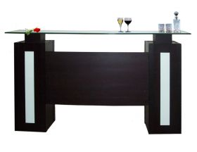 Haute Modern Bar Counter in Wenge