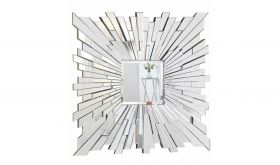 Elmira Modern Wall Mirror in Clear