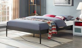 Elsie Modern Bed Frame in Brown