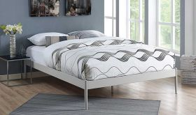 Elsie Modern Bed Frame in Gray