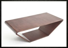 Elster Modern Coffee Table in Walnut