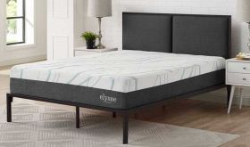 Elysse 12 Gel-Infused Hybrid Mattress in White