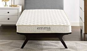 Emma 6 Two-Layer Memory Foam Mattress in White