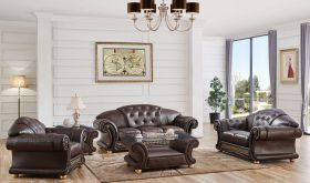 ESF Apolo Living Room Set in Brown