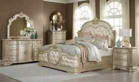 Fairview Traditional Bedroom Set in Champagne