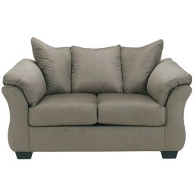 Signature Design by Ashley Darcy Loveseat in Cobblestone Fabric [FSD-1109LS-COB-GG]