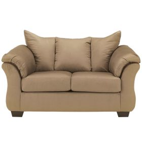 Signature Design by Ashley Darcy Loveseat in Mocha Fabric [FSD-1109LS-MOC-GG]