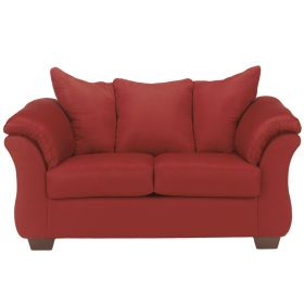 Signature Design by Ashley Darcy Loveseat in Salsa Fabric [FSD-1109LS-RED-GG]