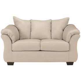 Signature Design by Ashley Darcy Loveseat in Stone Fabric [FSD-1109LS-STO-GG]