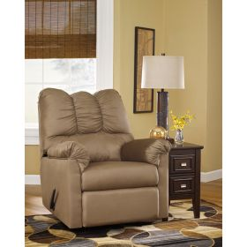 Signature Design by Ashley Darcy Rocker Recliner in Mocha Fabric [FSD-1109REC-MOC-GG]
