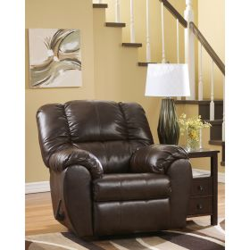 Signature Design By Ashley Dylan DuraBlend Rocker Recliner in Espresso DuraBlend [FSD-5699REC-ESP-GG]