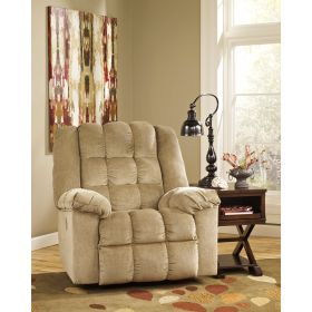 Signature Design By Ashley Ludden Power Rocker Recliner in Sand Twill [FSD-6199REC-P-SND-GG]